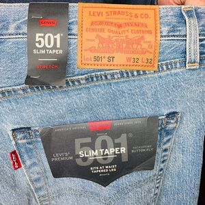 Levi's Premium Men's Slim Taper 501